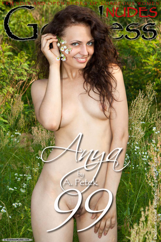Anya - `Set 1` - by A Petek for GODDESSNUDES