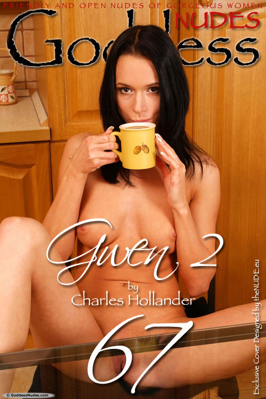 Gwen - `Set 2` - by Charles Hollander for GODDESSNUDES