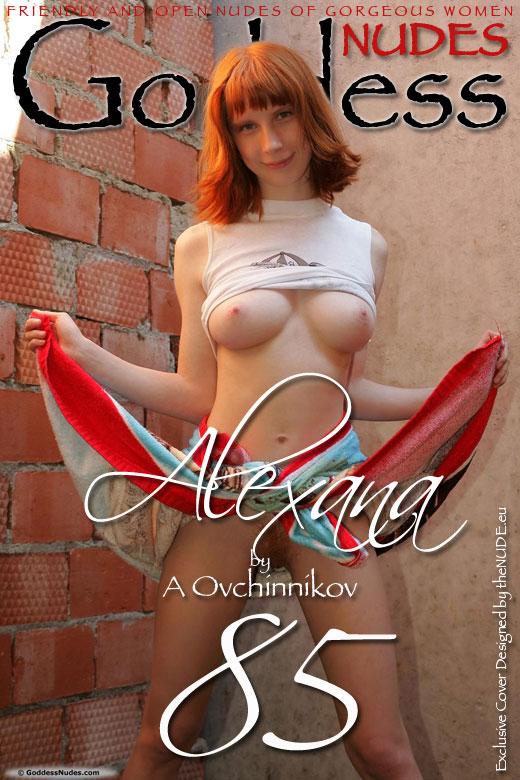 Alexana - `Set 3` - by A Ovchinnikov for GODDESSNUDES