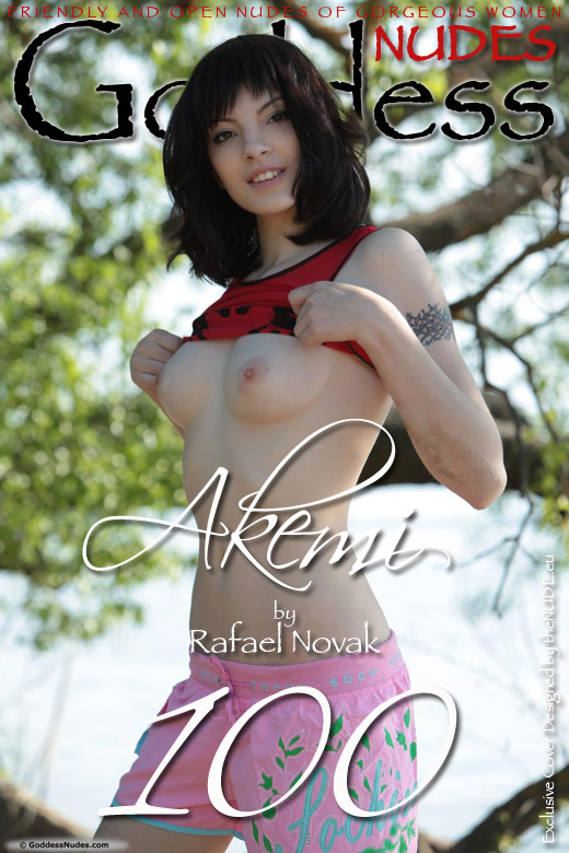 Akemi - `Set 3` - by Rafael Novak for GODDESSNUDES