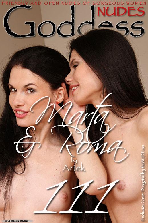 Marta + Roma - `Set 1 - Real Twins` - by Aztek for GODDESSNUDES
