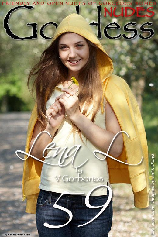 Lena L - `Set 4` - by V Gorbonos for GODDESSNUDES