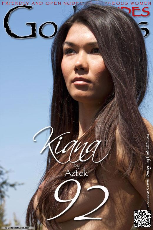 Kiana - `Set 2` - by Aztek for GODDESSNUDES
