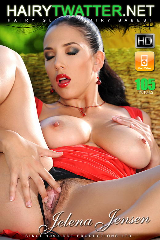 Jelena Jensen - `Little Red Riding Hoods Hairy Hole` - for HAIRYTWATTER
