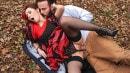Fiery Hardcore In The Woods: Flamenco Dancer Needs Cock