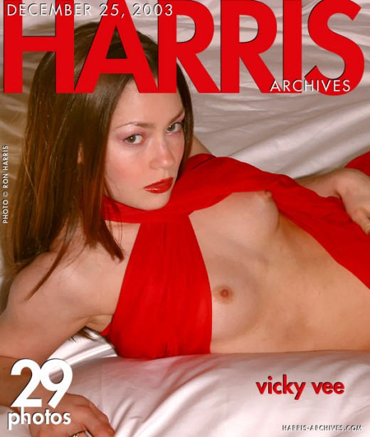Vicky Vee - `Red Bed` - by Ron Harris for HARRIS-ARCHIVES