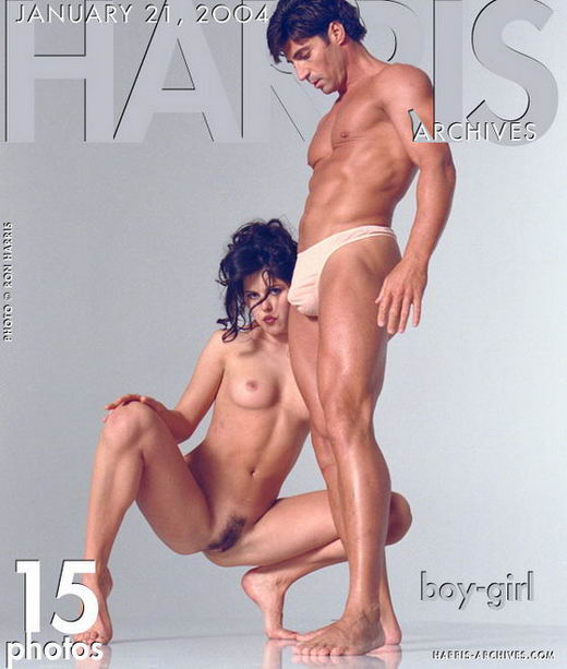 `Boy-girl` - by Ron Harris for HARRIS-ARCHIVES