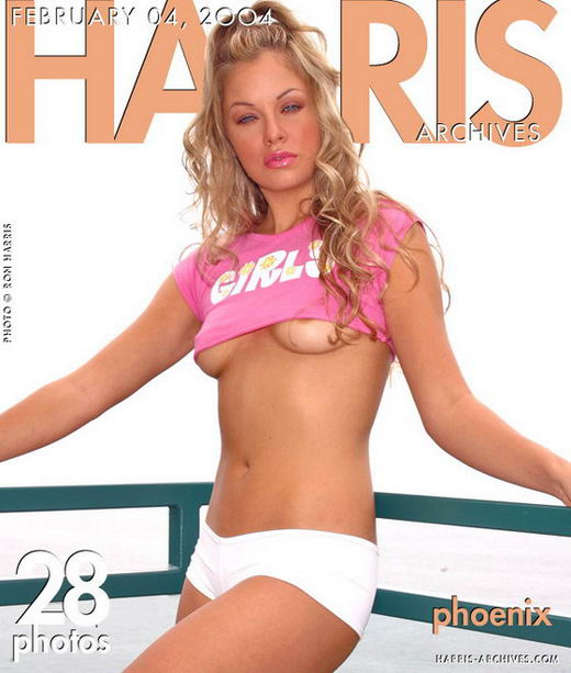Phoenix in White Shorts gallery from HARRIS-ARCHIVES by Ron Harris