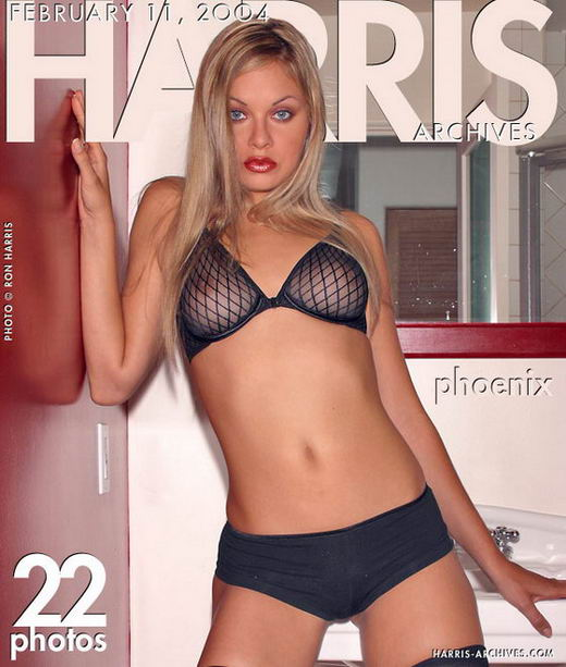 Phoenix in Black Lingery gallery from HARRIS-ARCHIVES by Ron Harris