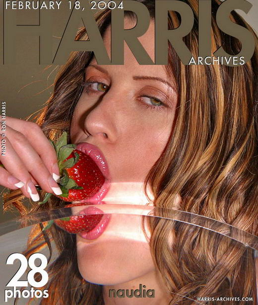 Naudia - `Strawberry` - by Ron Harris for HARRIS-ARCHIVES