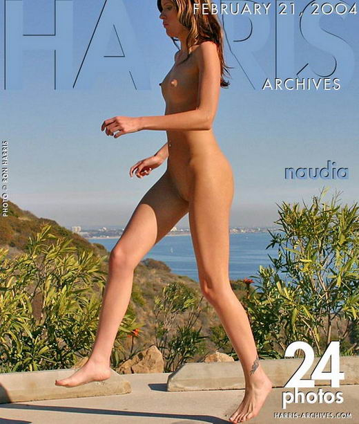 Naudia - `Running In Malibu` - by Ron Harris for HARRIS-ARCHIVES
