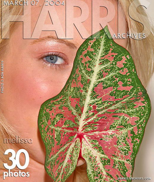 Melissa - `Leaf` - by Ron Harris for HARRIS-ARCHIVES