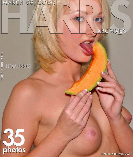 Melissa - `Cantaloupe` - by Ron Harris for HARRIS-ARCHIVES