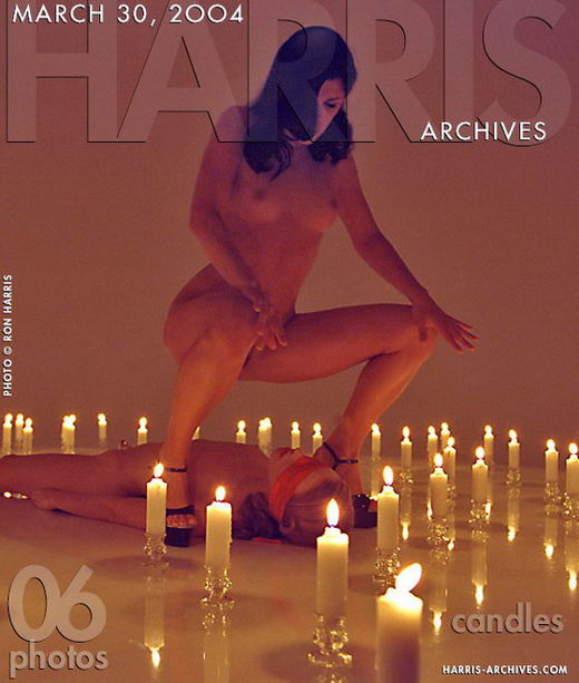 `Candles` - by Ron Harris for HARRIS-ARCHIVES
