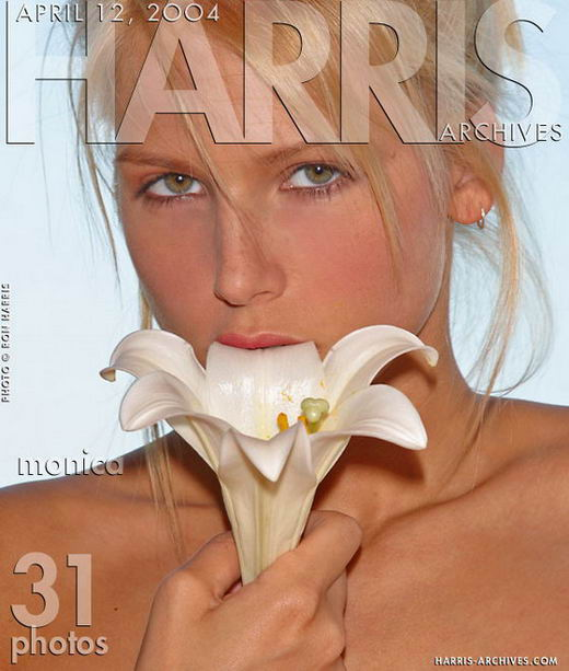 Monica in Flower gallery from HARRIS-ARCHIVES by Ron Harris