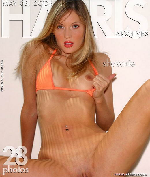 Shawnie in Orange Bikini gallery from HARRIS-ARCHIVES by Ron Harris