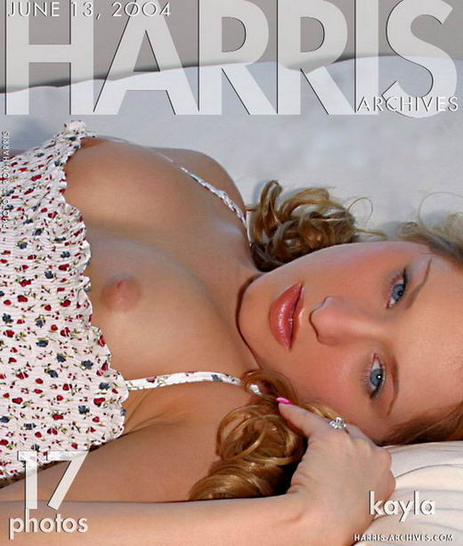 Kayla - `Bed` - by Ron Harris for HARRIS-ARCHIVES