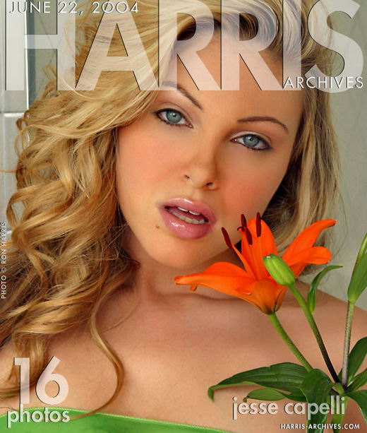 Jesse - `Orange Lily` - by Ron Harris for HARRIS-ARCHIVES