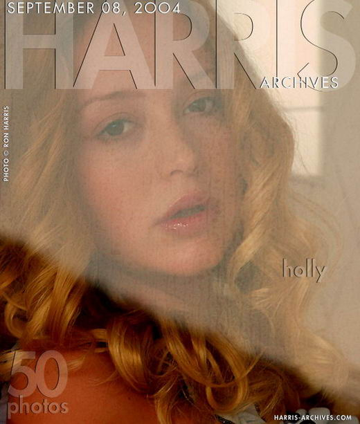 Holly - `Shower` - by Ron Harris for HARRIS-ARCHIVES