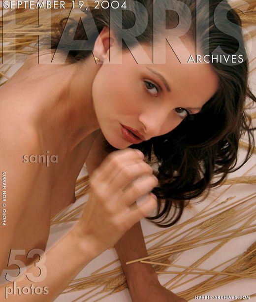 Sanja in Wheat ( date on cover ) gallery from HARRIS-ARCHIVES by Ron Harris