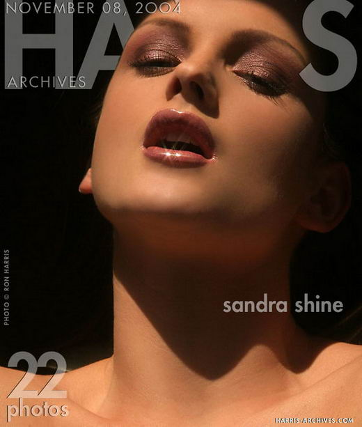 Sandra Shine in Gold gallery from HARRIS-ARCHIVES by Ron Harris