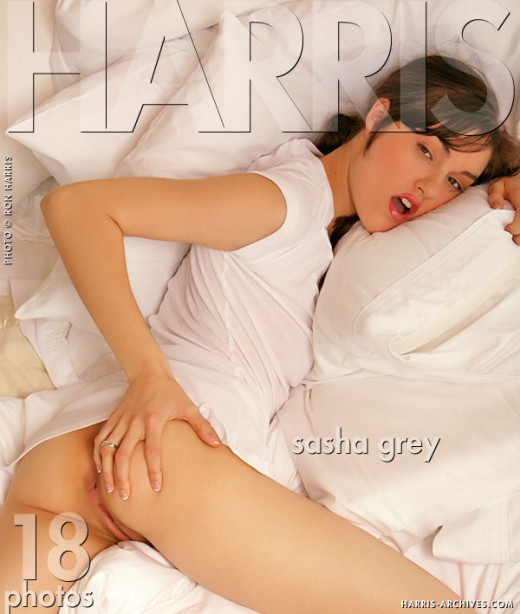 Sasha Grey - `White` - by Ron Harris for HARRIS-ARCHIVES