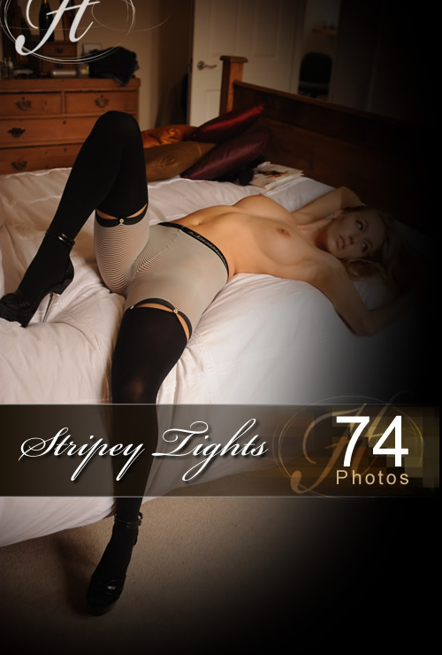 Hayley Marie - `Stripey Tights` - for HAYLEYS SECRETS
