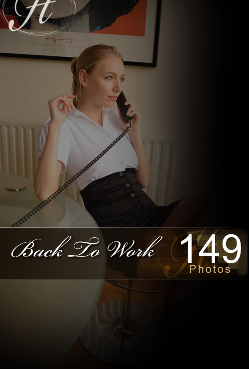 Hayley Marie - `Back To Work` - for HAYLEYS SECRETS