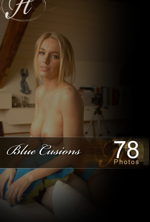Hayley Marie - `Blue Cusions` - for HAYLEYS SECRETS