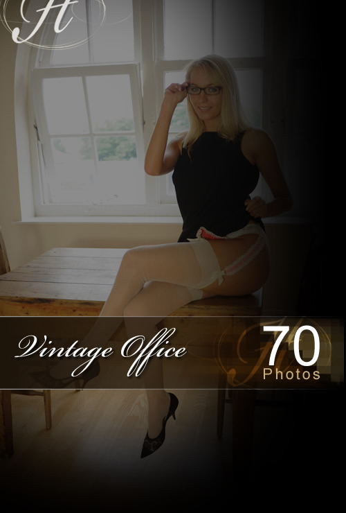Hayley Marie - `Vintage Office` - for HAYLEYS SECRETS