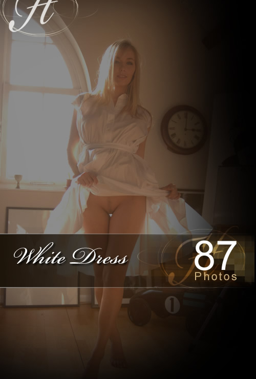 Hayley Marie - `White Dress` - for HAYLEYS SECRETS