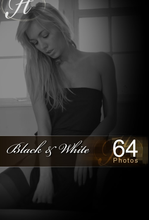 Hayley Marie - `Black and White` - for HAYLEYS SECRETS