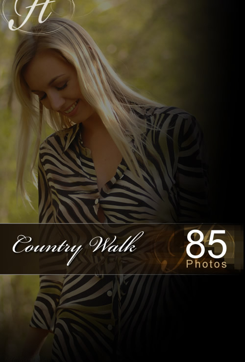 Hayley Marie - `Country Walk` - for HAYLEYS SECRETS