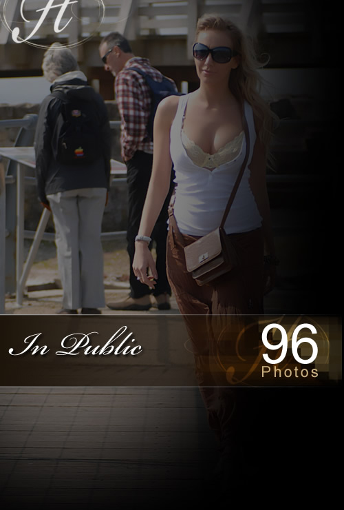 Hayley Marie - `In Public` - for HAYLEYS SECRETS