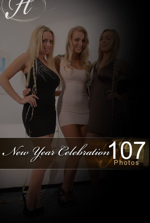 Hayley & Holly & Jenna - `New Year Celebration` - for HAYLEYS SECRETS