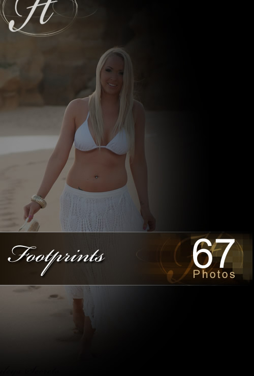 Ashleigh - `Footprints` - for HAYLEYS SECRETS
