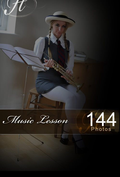 Hayley Marie - `Music Lesson` - for HAYLEYS SECRETS