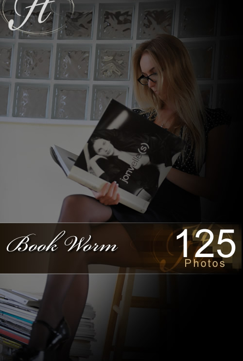 Hayley Marie - `Book Worm` - for HAYLEYS SECRETS