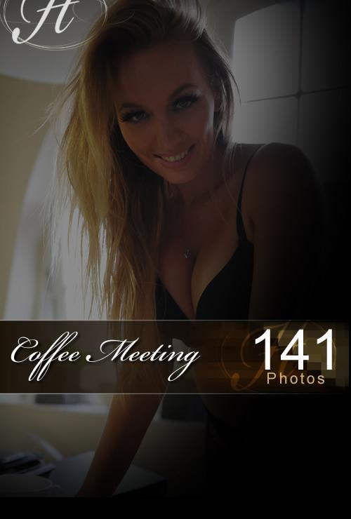 Hayley Marie in Coffee Meeting gallery from HAYLEYS SECRETS