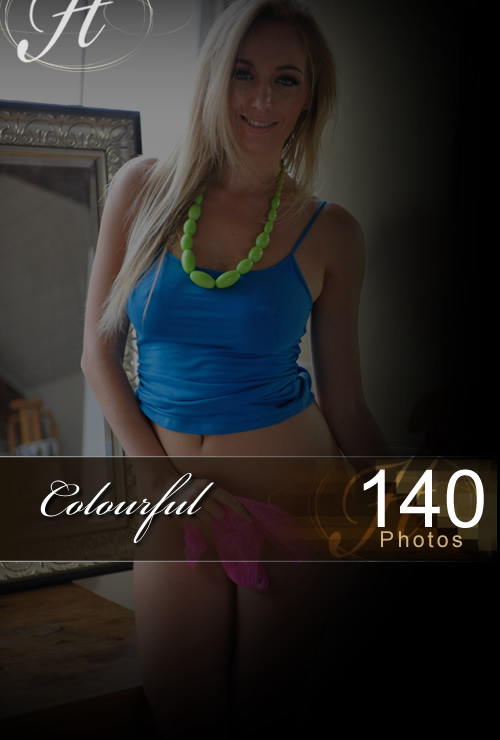 Hayley Marie - `Colourful` - for HAYLEYS SECRETS