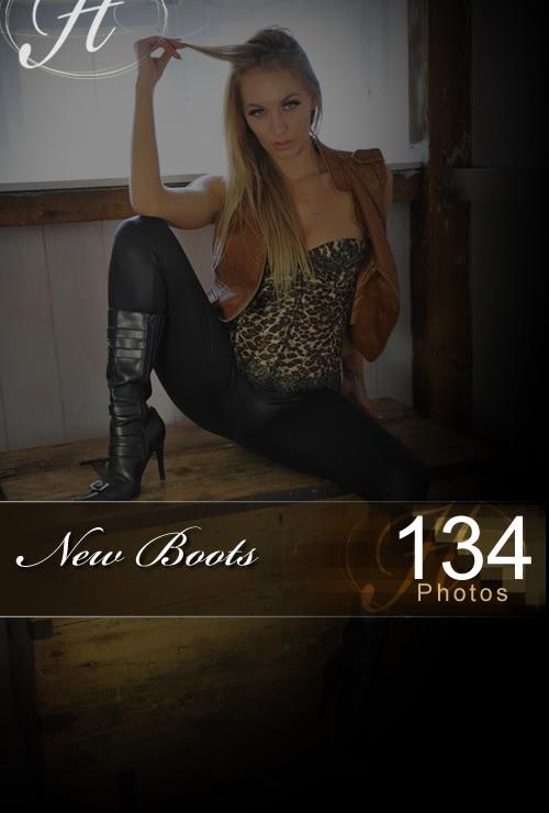 Hayley Marie - `New Boots` - for HAYLEYS SECRETS