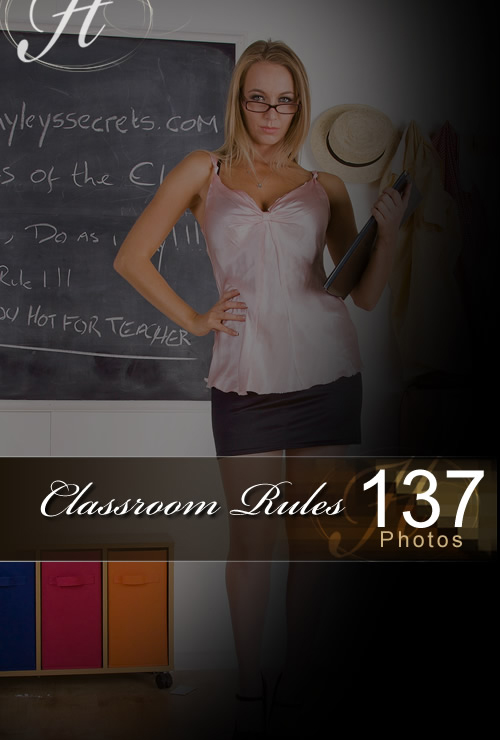 Hayley Marie - `Classroom Rules` - for HAYLEYS SECRETS