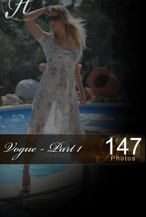 Hayley Marie - `Vogue - Part 1` - for HAYLEYS SECRETS