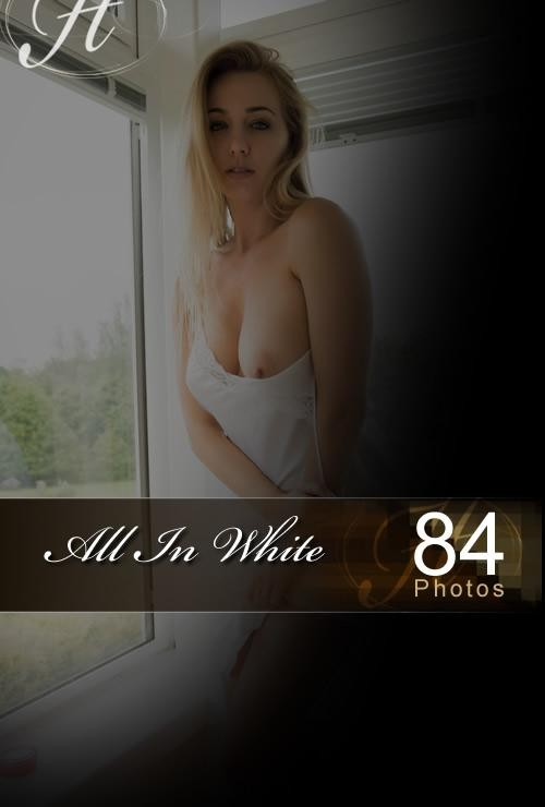 Hayley Marie - `All In White` - for HAYLEYS SECRETS