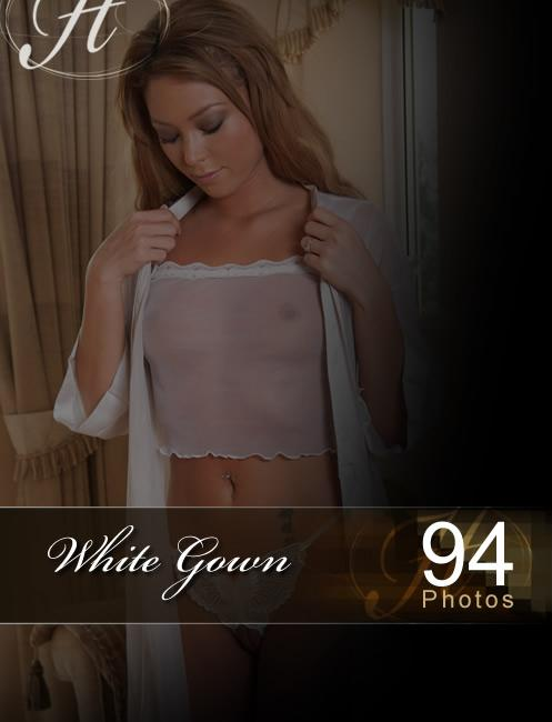Natalia - `White Gown` - for HAYLEYS SECRETS
