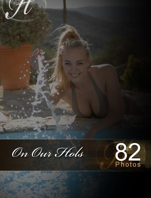 Hayley Marie - `On Our Hols` - for HAYLEYS SECRETS