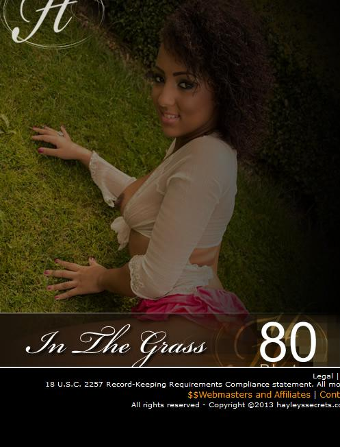 Kayla - `In The Grass` - for HAYLEYS SECRETS