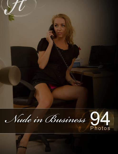 Hayley Marie - `Nude In Business` - for HAYLEYS SECRETS