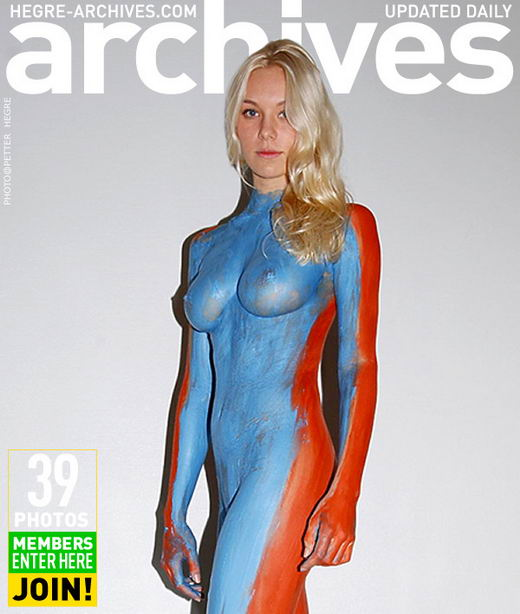 Vilita - `Bodypainting` - by Petter Hegre for HEGRE-ARCHIVES