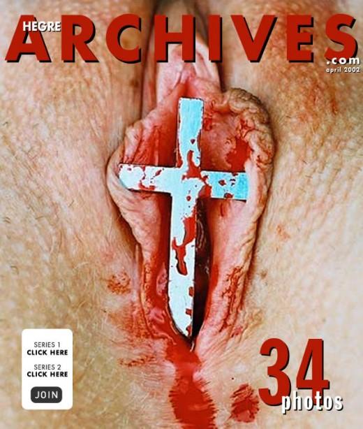 `Sex Vs Religion` - by Petter Hegre for HEGRE-ARCHIVES